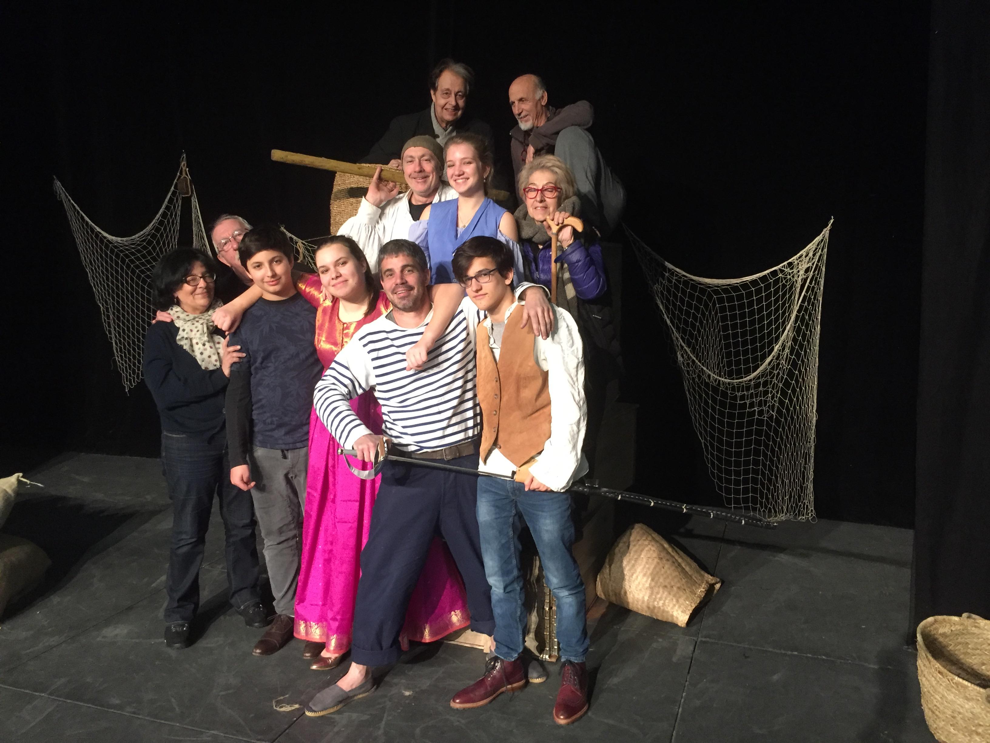 Théâtre : Quand le Scapin de Molière devient U Scappinu