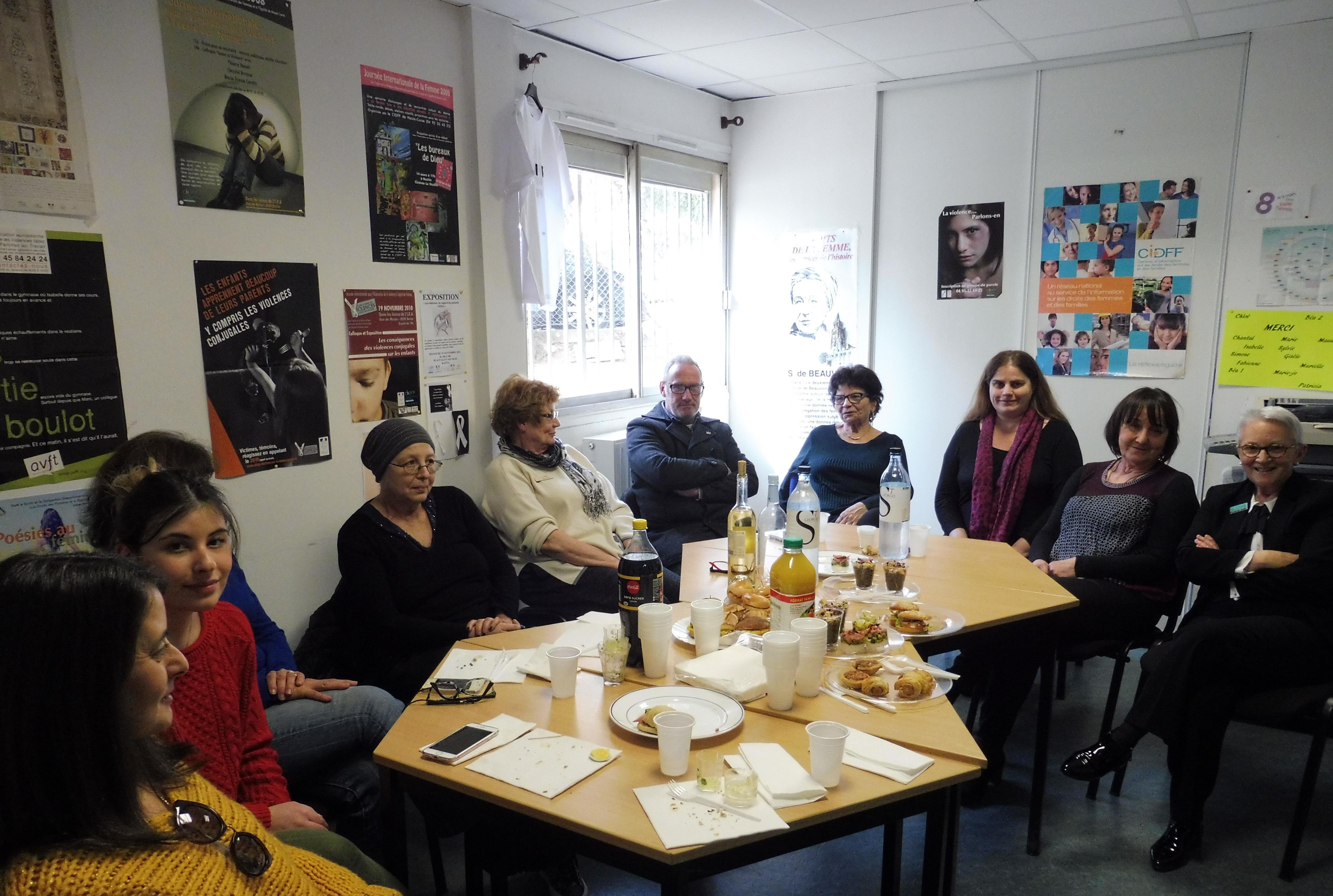 Le CIDFF de Haute-Corse fête la journée de la femme comme il se doit à Bastia