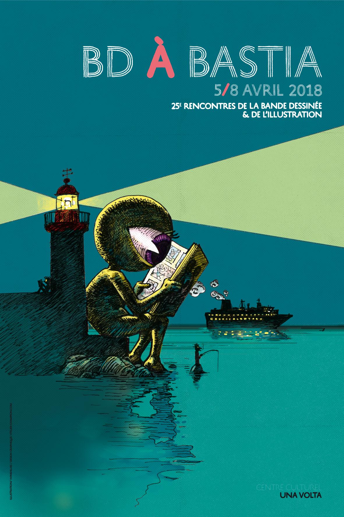 Bastia : Explosion de bulles pour les 25 ans du Festival BD