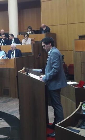 Petru Anto Tomasi, président du groupe Corsica Libera.