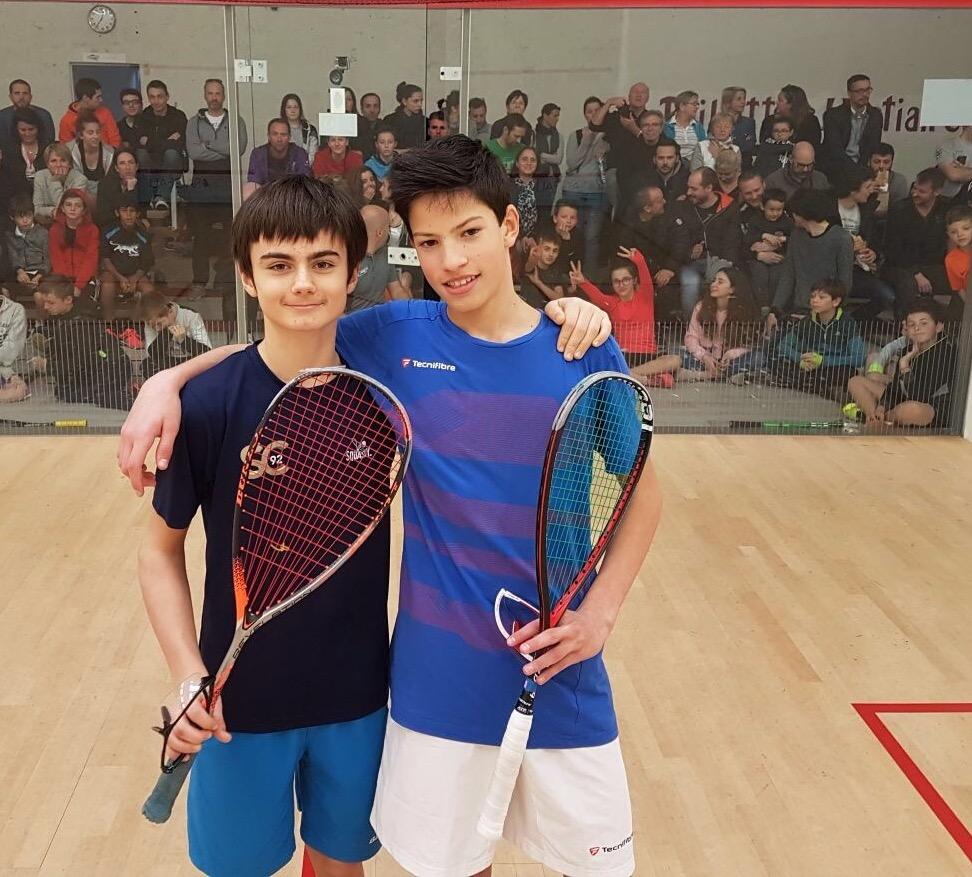 Antonin Romieu vice-champion de France de Squash