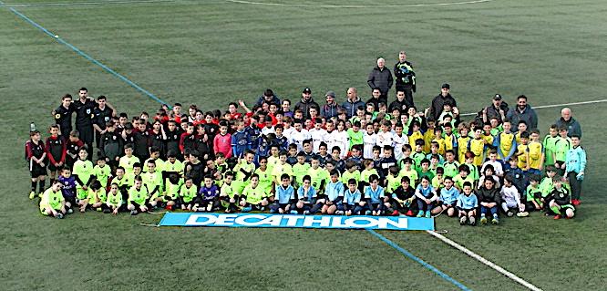 """Le """"Festival Challenge"""" a réuni près de 180 joueurs de 11 ans samedi à Furiani"""