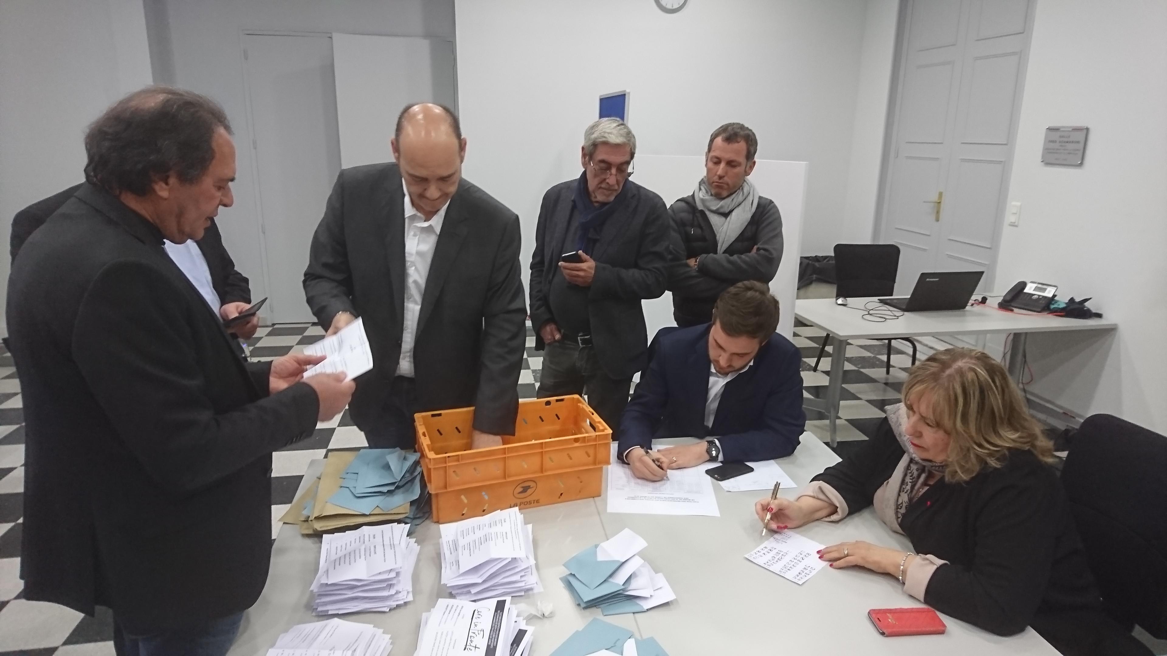 Le dépouillement s'est déroulé mardi après-midi en préfecture d'Ajaccio.