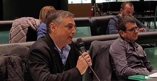 Serge Linale, vice-président de l'OPH2B et conseiller municipal de Bastia, adjoint aux affaires sociales.