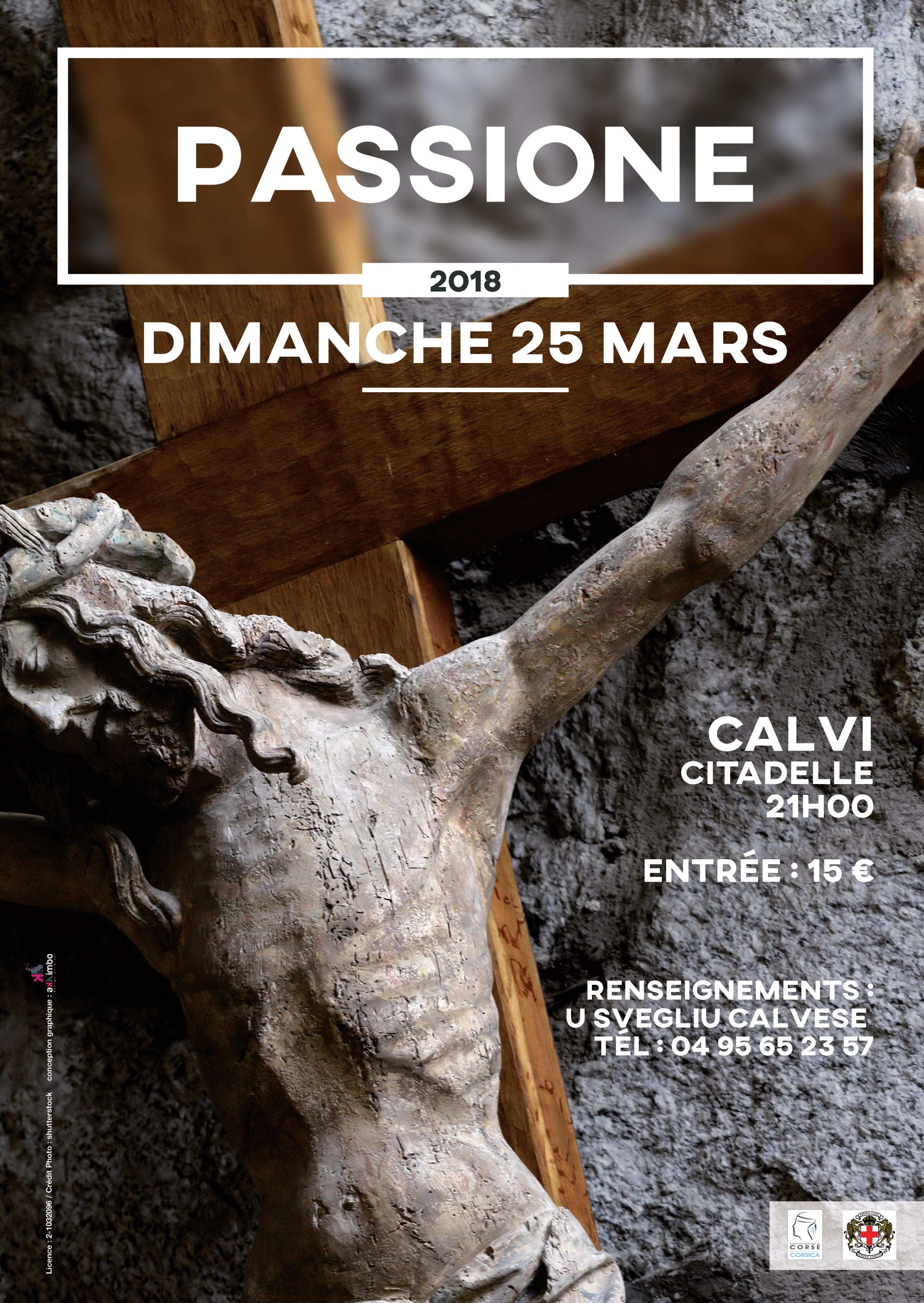 """""""A Passione"""" dimanche 25 mars à Calvi"""
