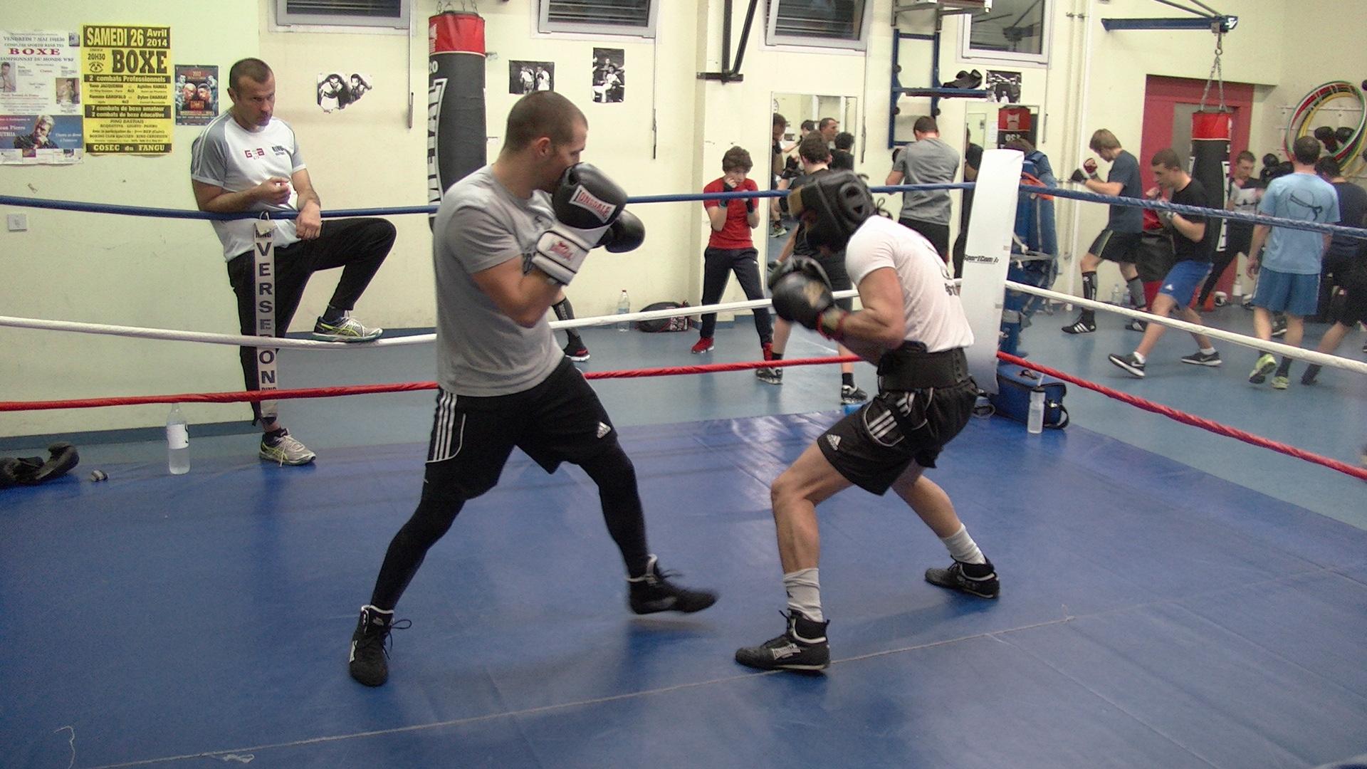 6ème combat professionnel pour le Bastiais Joseph-Antoine Legato (à droite)