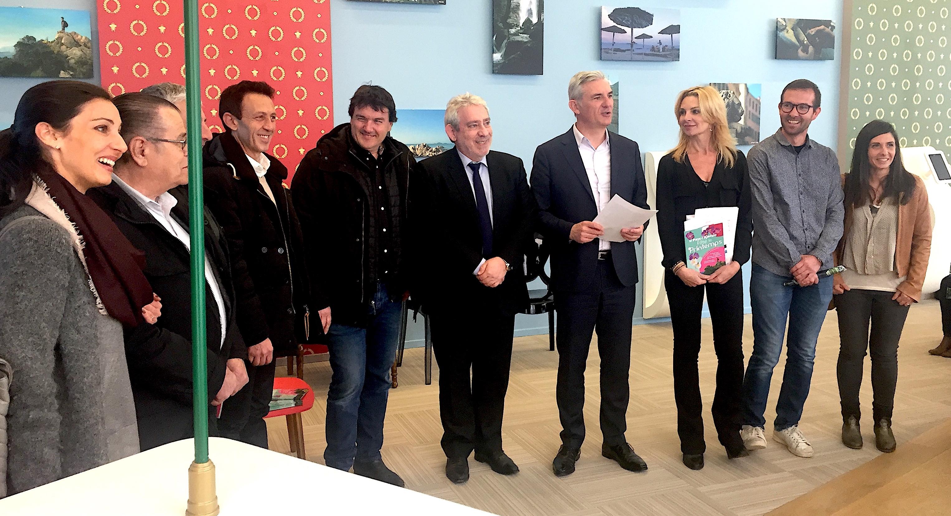 Le printemps ajaccio l 39 office intercommunal de tourisme propose une pl iade d animations - Ajaccio office de tourisme ...