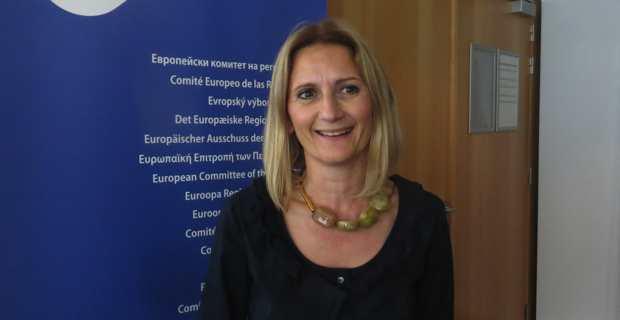 Marie Antoinette Maupertuis, conseillère exécutive en charge des affaires européennes, présidente de l'Agence du tourisme (ATC) et membre du Comité européen des régions.