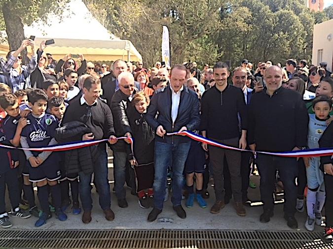 Le nouveau stade de Pietralba porte désormais son nom : Le vibrant hommage d'Ajaccio à Pierre Cahuzac