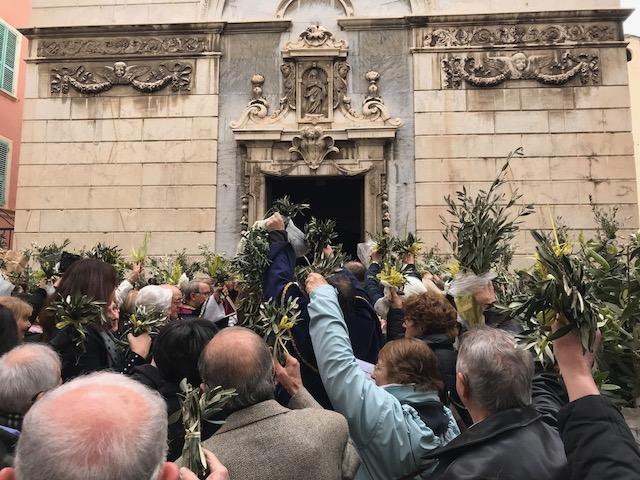 Bastia : Saint-Jean célèbre le Dimanche des Rameaux