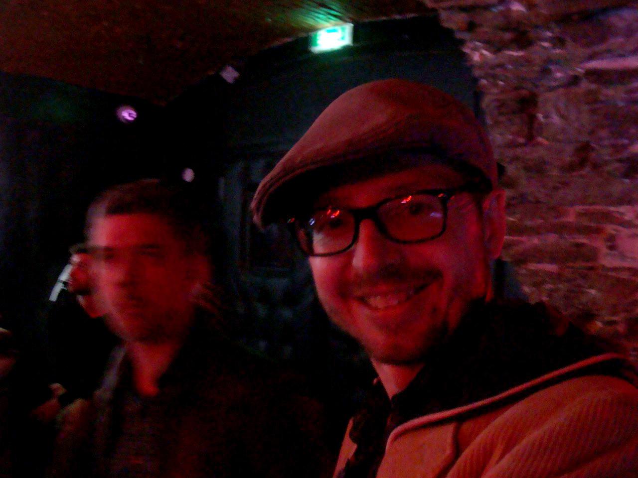 Olivier et Franck, duo de choc de Art et Noces Troubles à l'origine de cette soirée