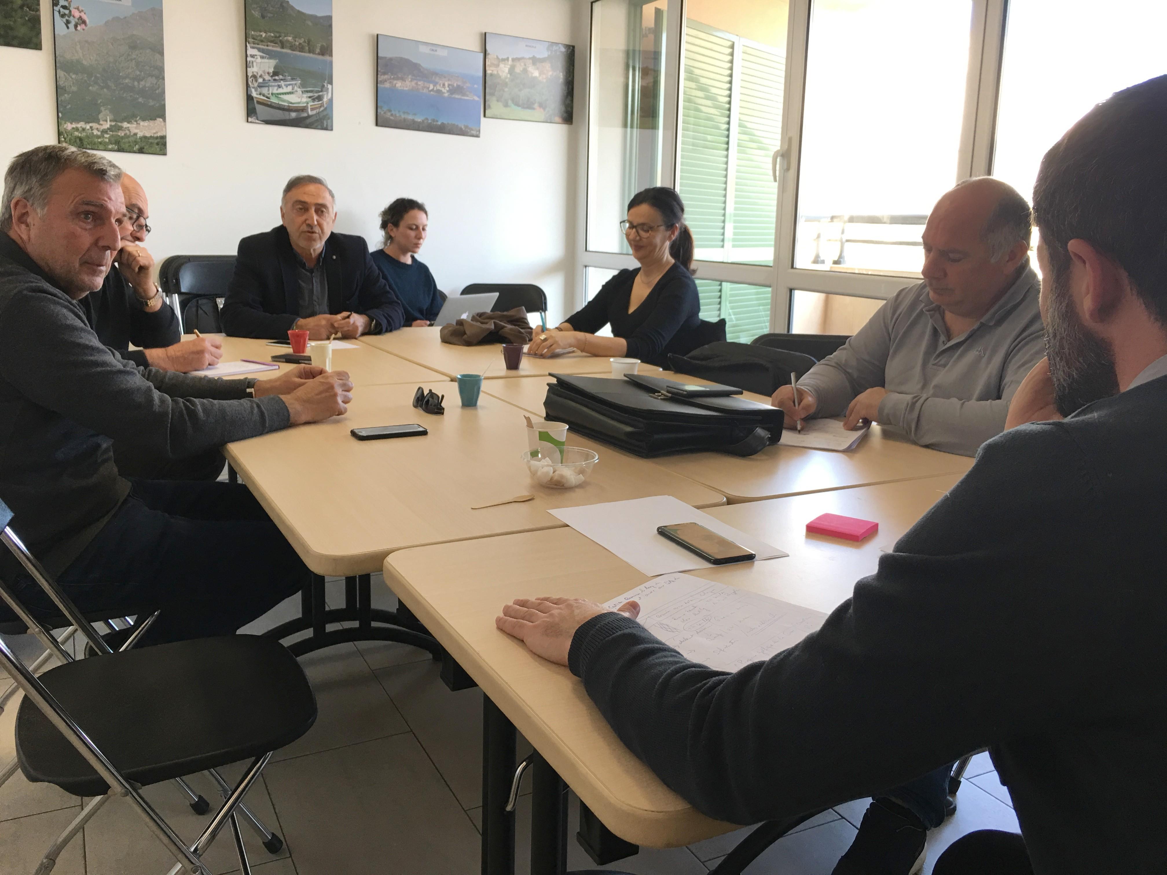 Jean-Félix Acquaviva à  Calvi pour rencontrer les élus balanins et les professionnels du tourisme