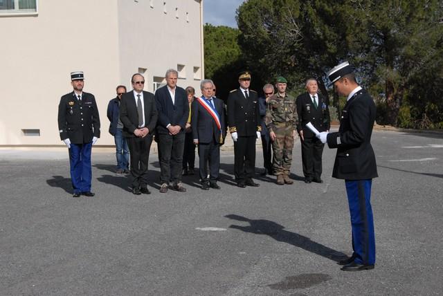 L'hommage des gendarmes de Corse au Colonel Arnaud Beltrame