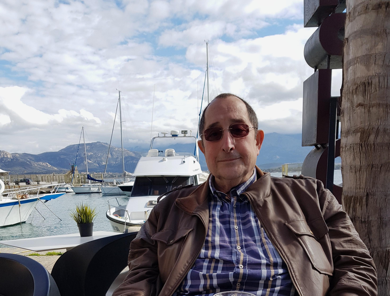 Michel Fenet portait la Corse dans son coeur