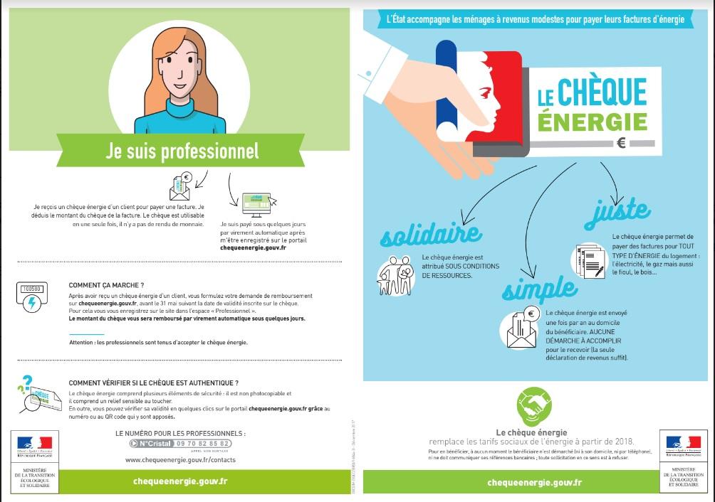 Le chèque énergie, nouvel outil de lutte contre la précarité énergétique, présenté à Ajaccio