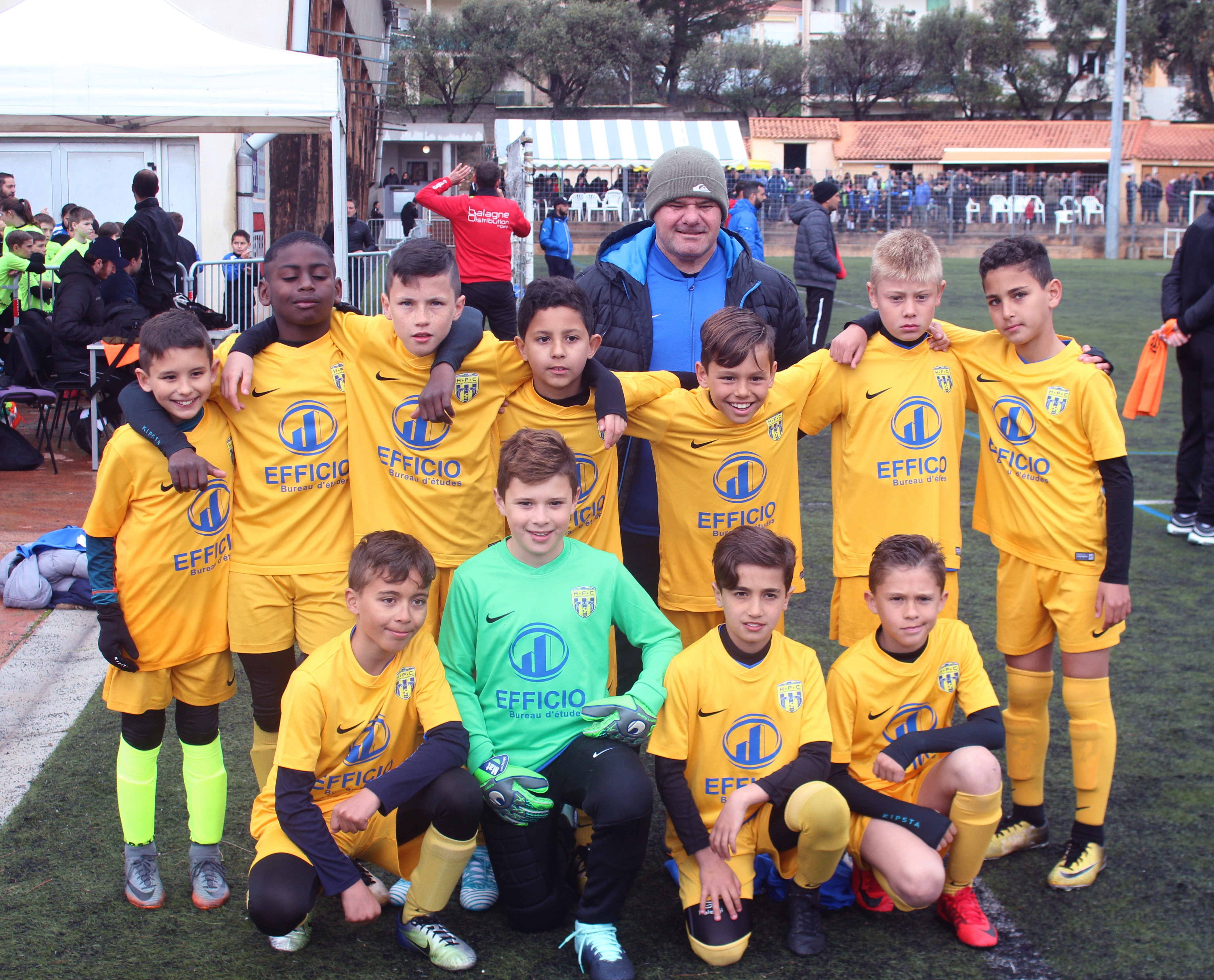 "Un tournoi de Pâques ""bien arrosé"" au Football Club Squadra de Calvi !"