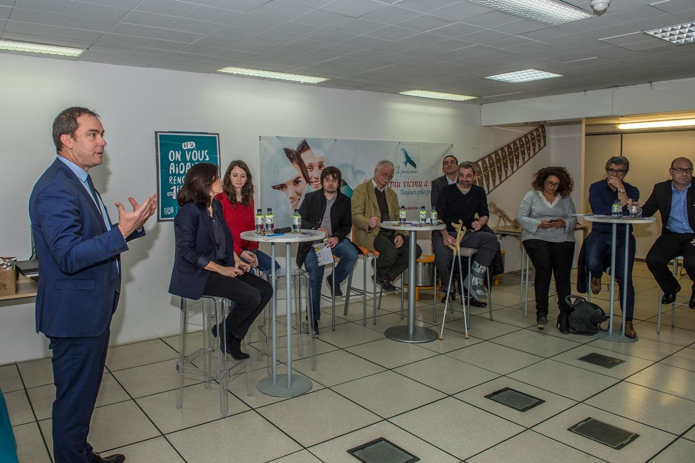Ajaccio : Scontri di a Fundazione pour le Crédit Agricole