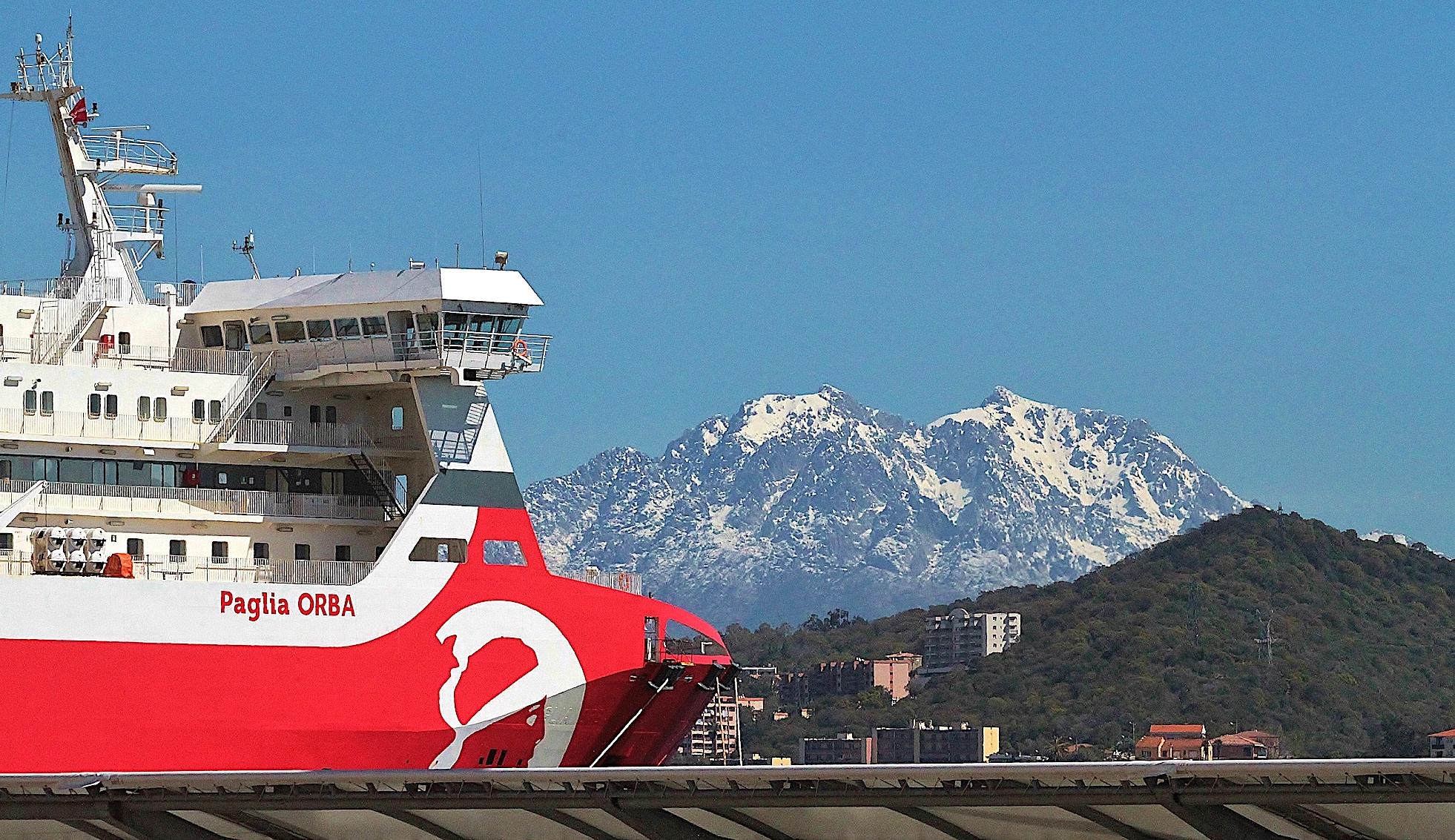 L'image du jour : Dans le port d'Ajaccio…