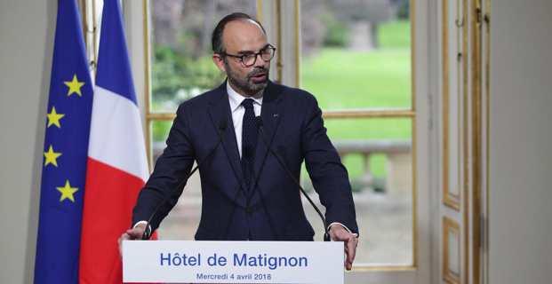 Le Premier ministre, Edouard Philippe, présente les grandes lignes de la réforme constitutionnelle.