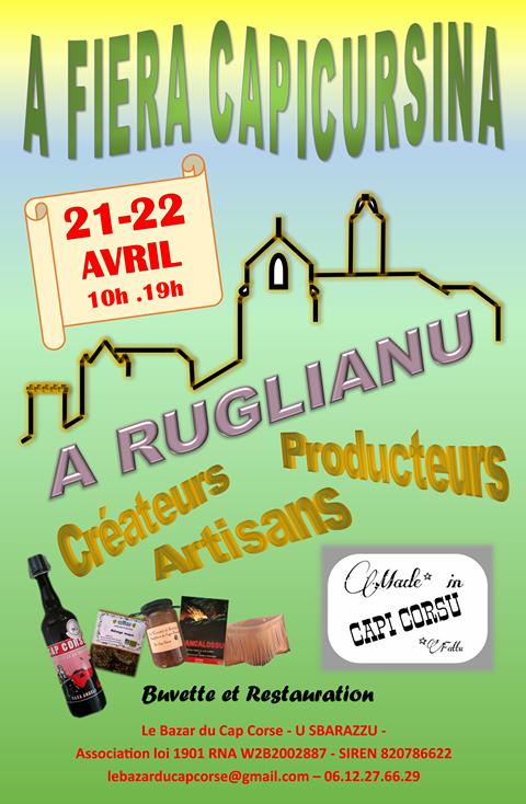 Prima fiera capicursina : C'est parti à  Ruglianu