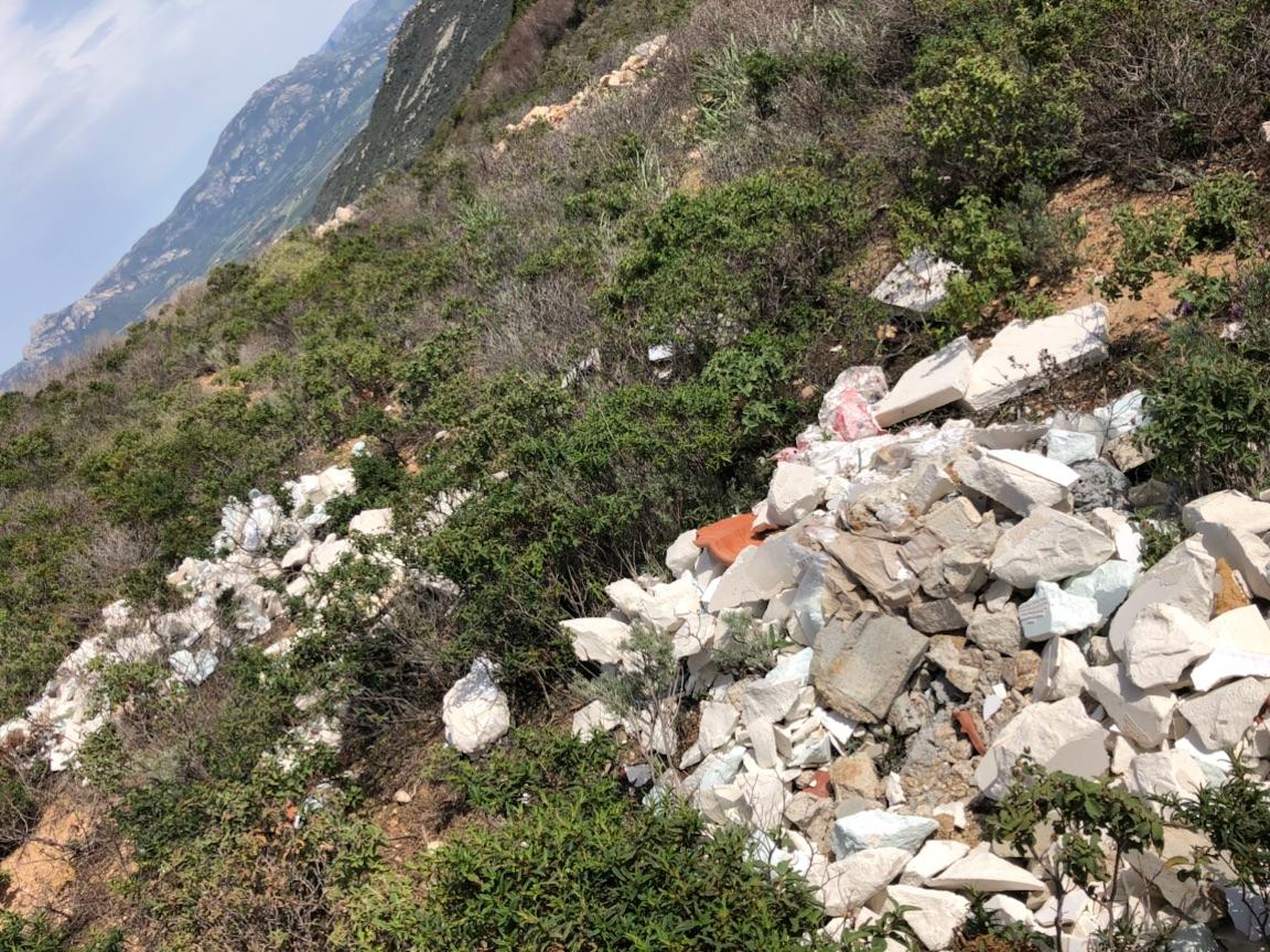 Balagne : Triste spectacle sur la randonnée di Capu di a veta