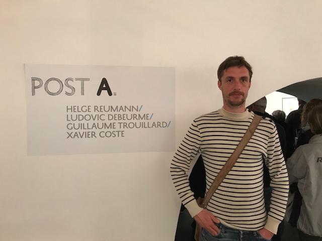 Guillaume Trouillard en clôture de l'édition 2018 du festival de la BD de Bastia