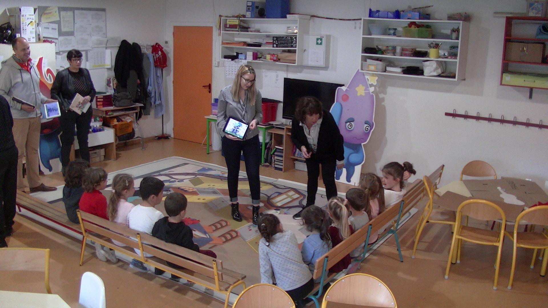 Furiani : Le numérique pour sensibiliser les enfants aux dangers  domestiques