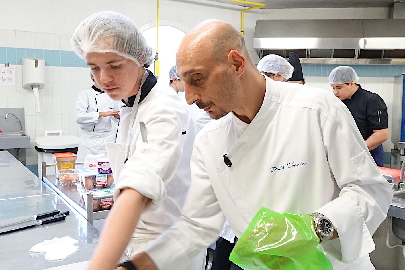 """David Chauvac, le chef étoilé de """"La Roya"""""""
