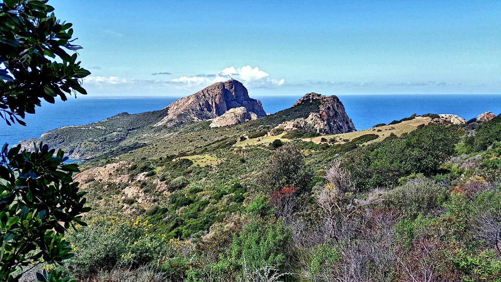 La photo du jour : Le site naturel de Capu Rossu