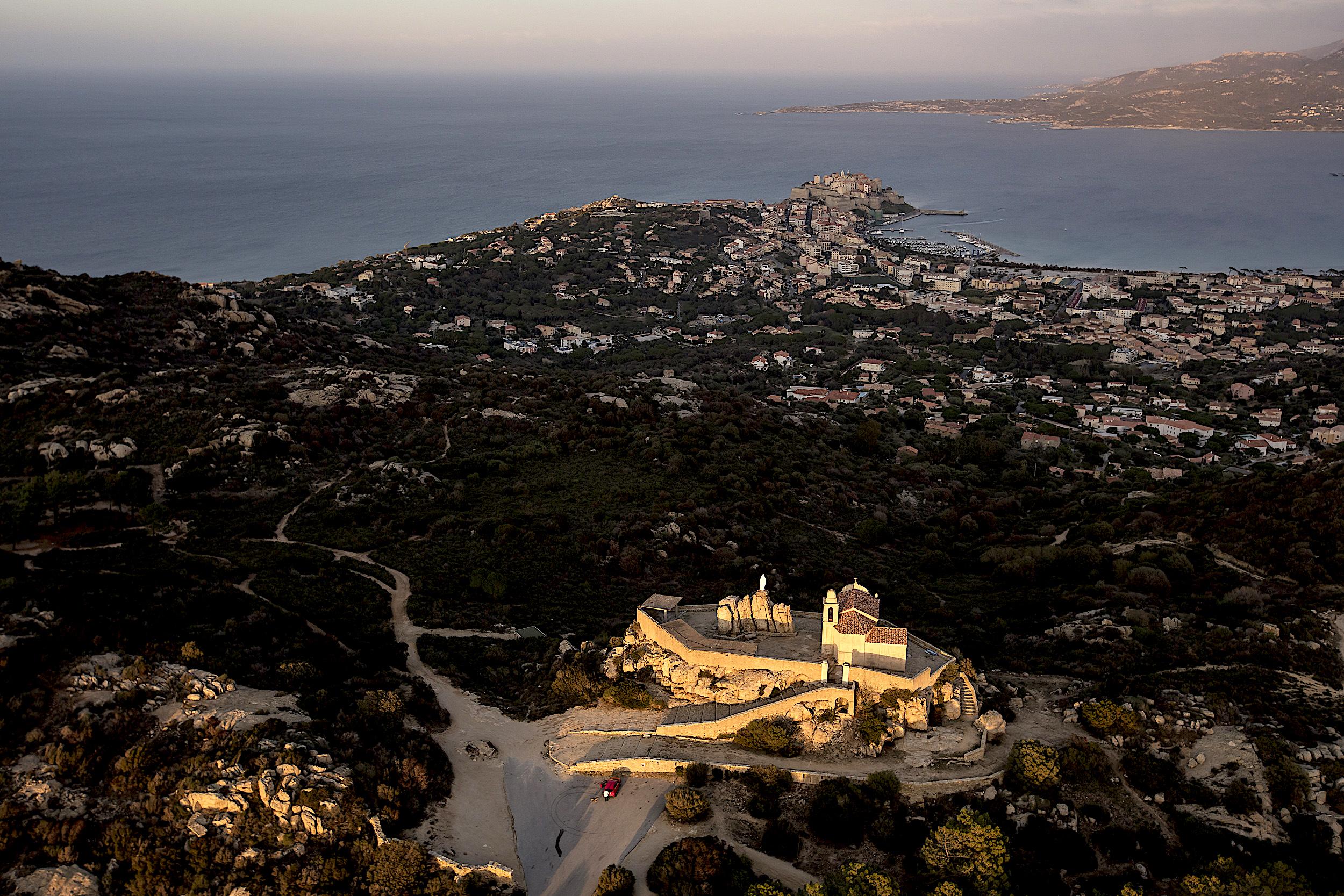 La photo du jour : Notre Dame de la Serra vue du… ciel !