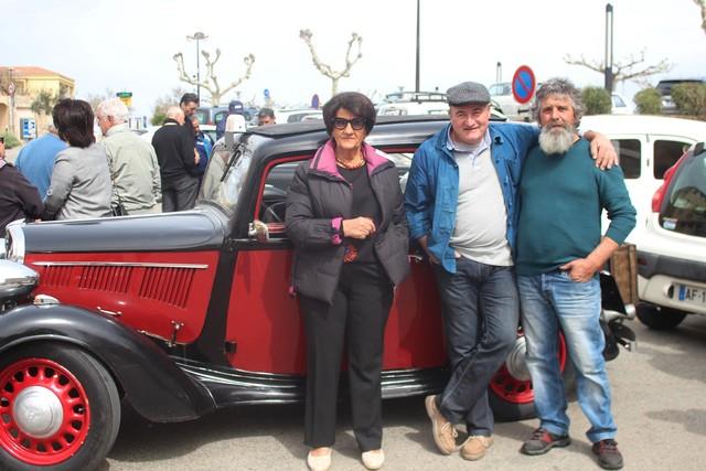 Des voitures de collection à Calvi pour la lutte contre le cancer