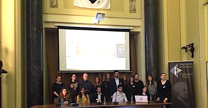 De Corte à Bucarest : La valorisation du patrimoine culturel corse et de l'université de Corse
