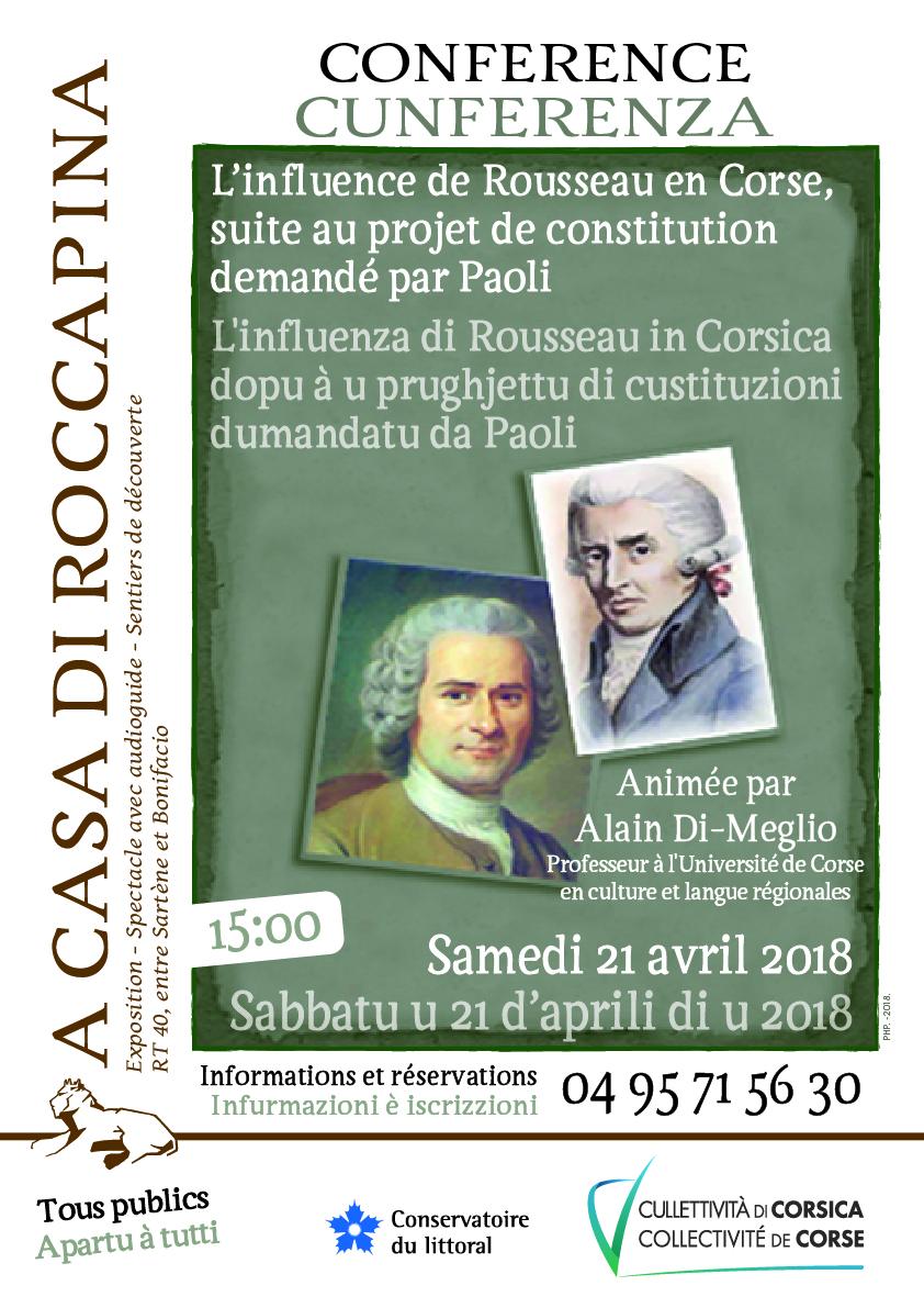 A Casa di Roccapina : L'influence de Rousseau en Corse