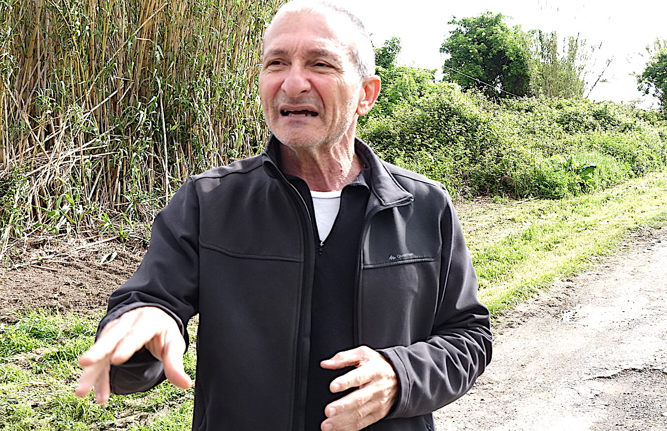 Joseph Colombani, président de la Chambre régionale d'agriculture et président de la FDSEA de Haute-Corse.