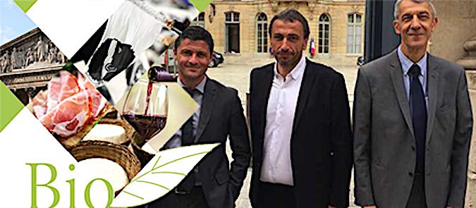 Les députés nationalistes organisent une dégustation de produits corses bio à l'Assemblée Nationale