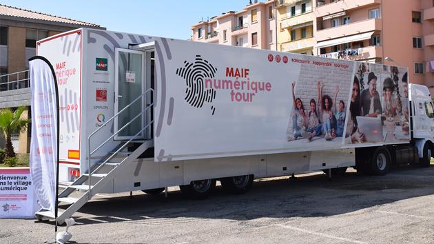 Ajaccio : Le camion du Maif numérique tour ce samedi à l'ancienne Caserne Grossetti