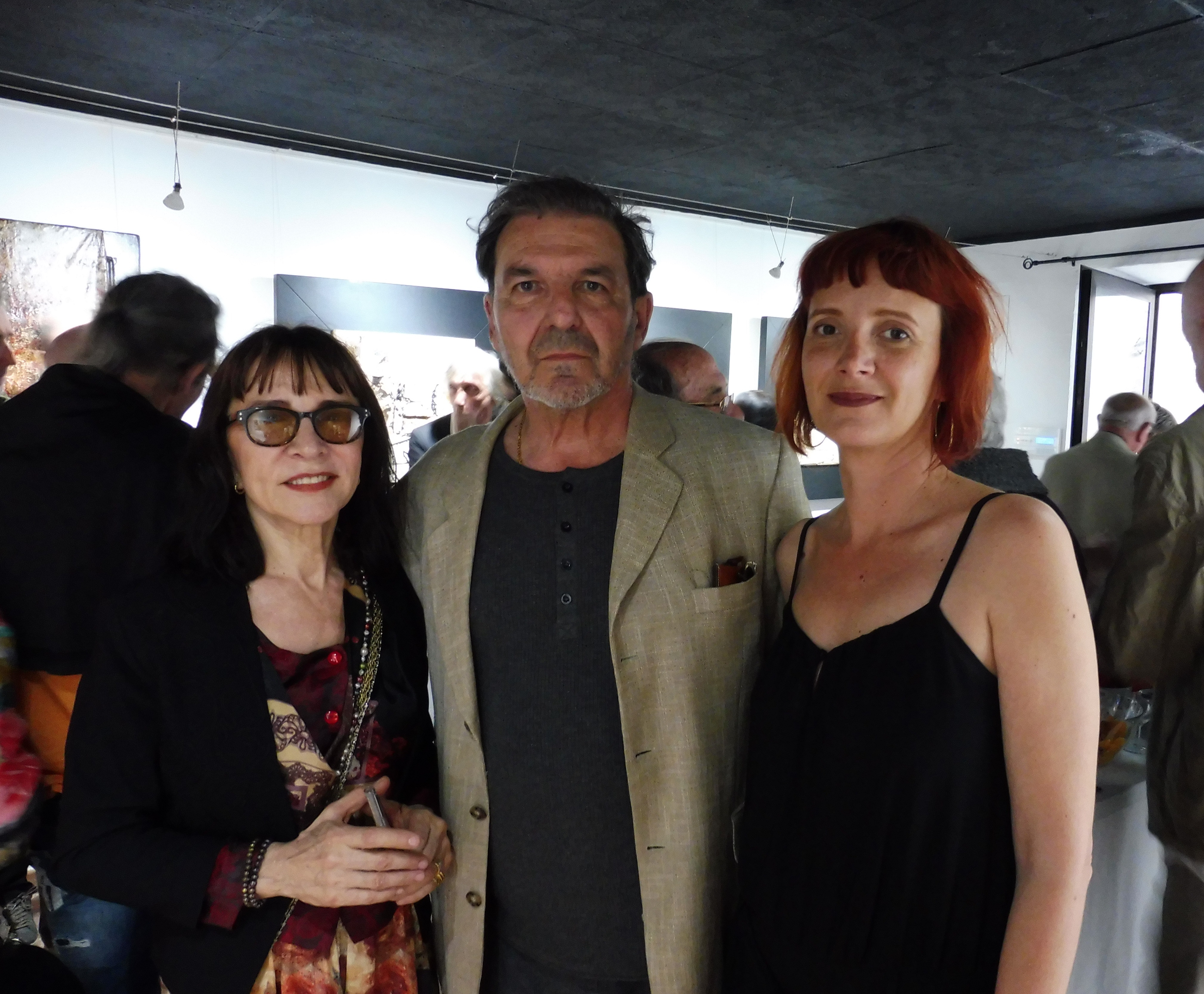 """Bastia : Guy-Paul Chauder à l'honneur à l'inauguration de la galerie """"Noir et Blanc"""""""