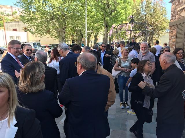 San Martino di Lota : La mairie, rénovée, a été inaugurée