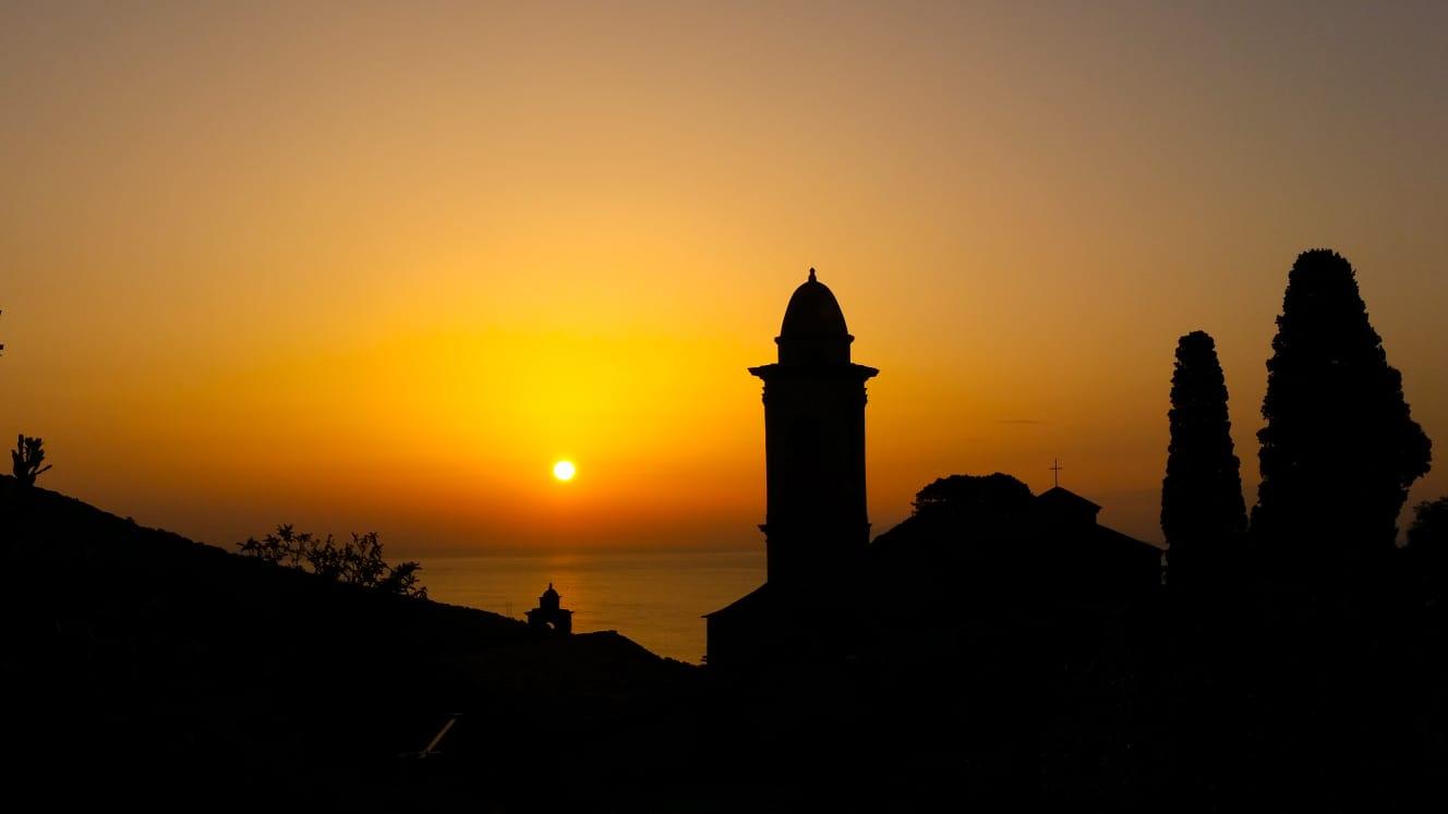 La photo du jour : U campanile di Santa Maria di Castellu
