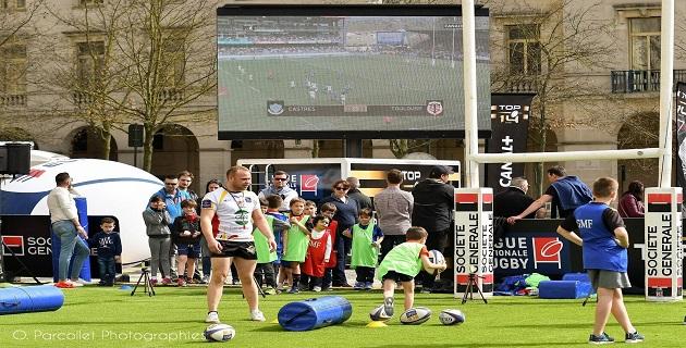 Ajaccio accueille Le TOP 14 Rugby Tour les 28 et 29 avril