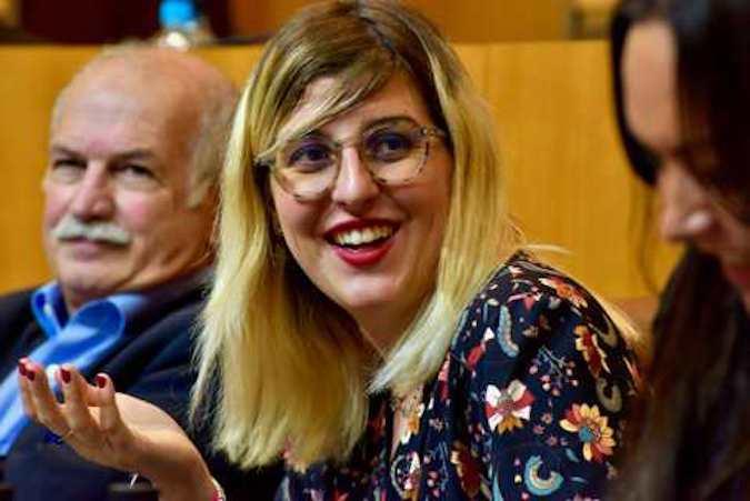 Lauda Guidicelli, conseillère exécutive en charge de la jeunesse, des sports, de l'égalité femmes-hommes.