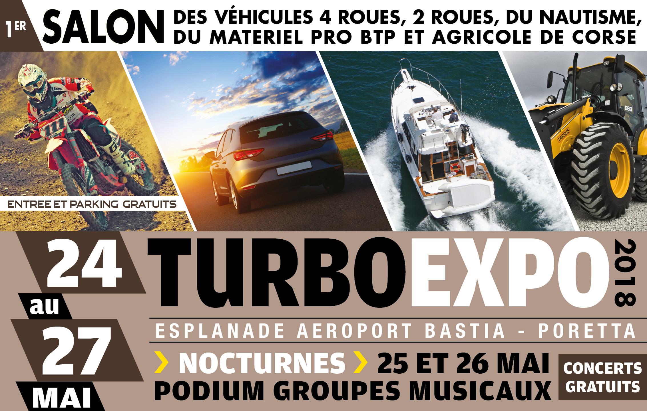 Turbo expo 2018 : 4 jours de salon à Poretta !