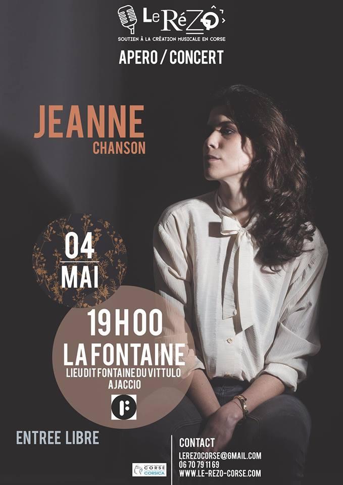 """Ajaccio : Jeanne fera entendre sa voix à """"La Fontaine"""""""