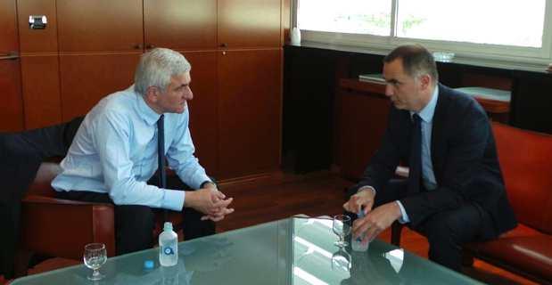 Hervé Morin et Gilles Simeoni.