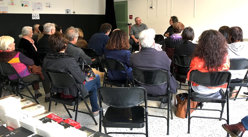 Santa Lucia di PortiVechju : Marc Biancarelli invité de l'école de Zia Peppa