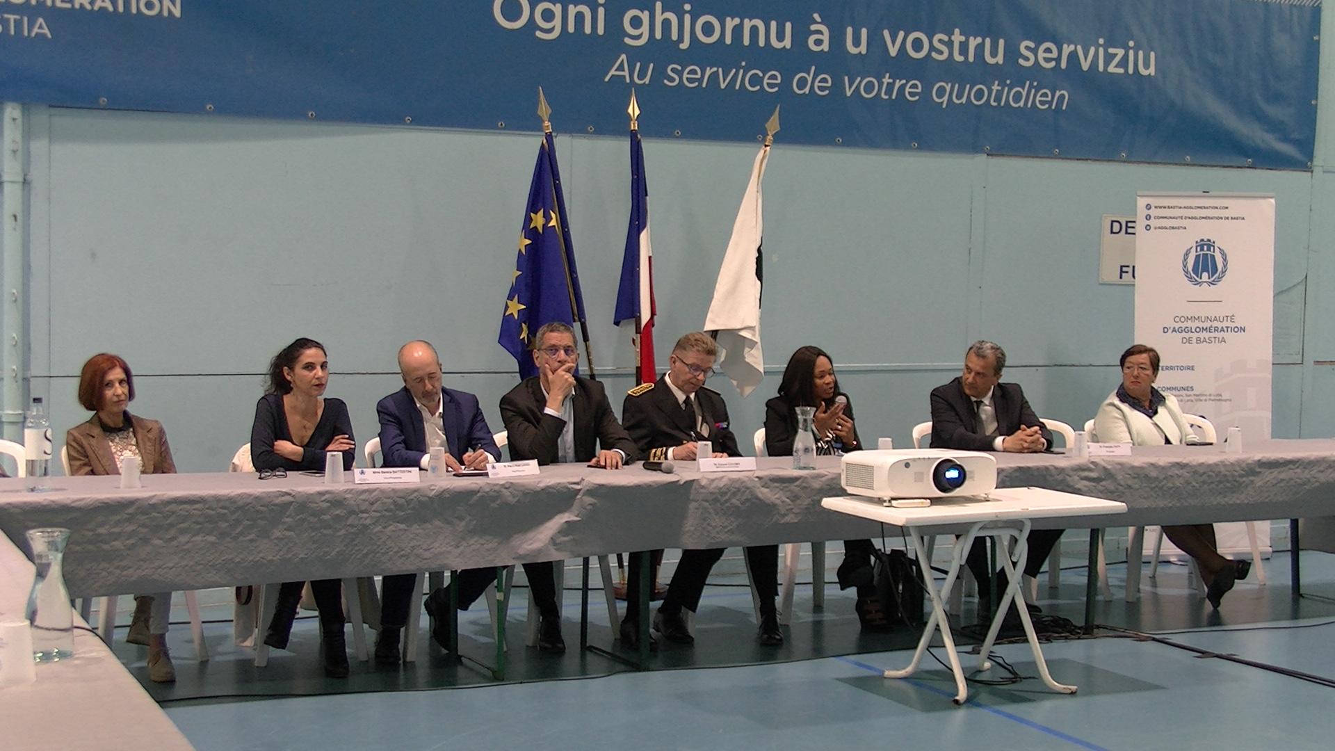 Sport : La Communauté d'Agglomération de Bastia dévoile ses projets à la ministre
