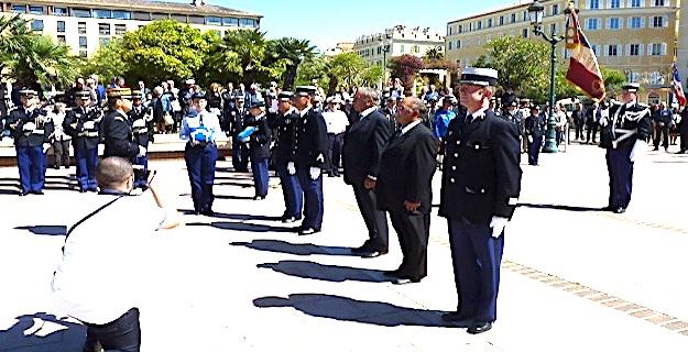 Commémoration du 8 mai 1945 : Un vétéran de l'armée de l'air australienne à Ajaccio
