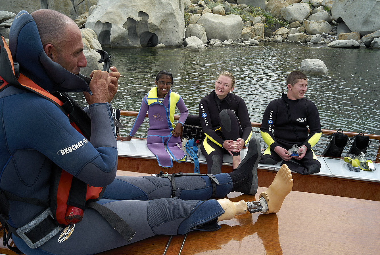 Voile, kayak, paddle, plongée sous-marine … pour les handicapés grâce à « Bout de vie » qui souffle ses 15 bougies…