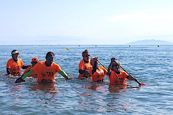 Championnat régional de longe côte à Folelli