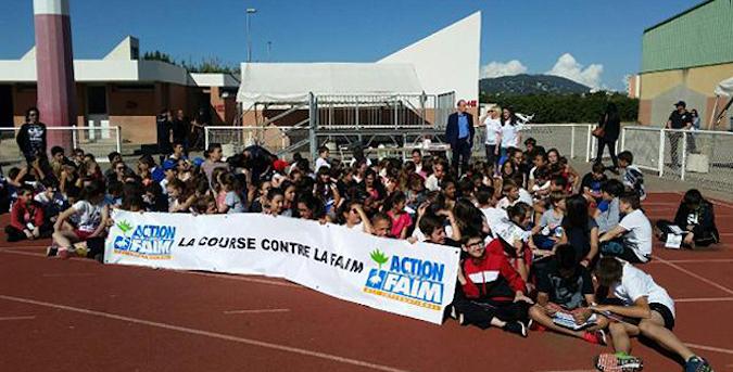Les élèves corses participent régulièrement à cette course